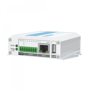 Industrial IoT 4G LTE Router - extension and ethernet ports